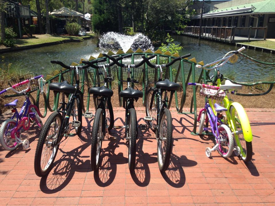 Alligator Bike Rack Coligny